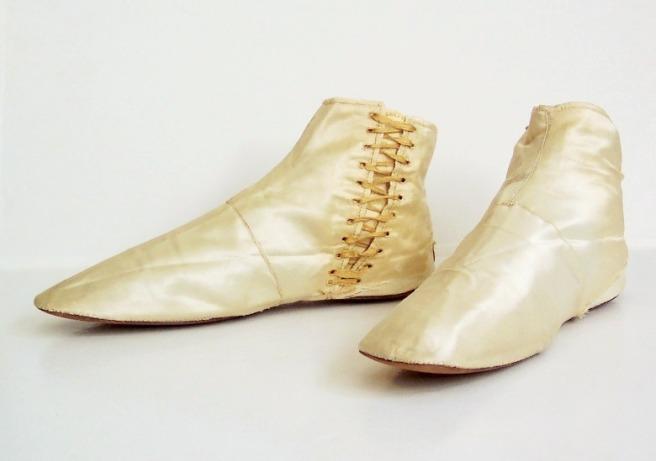 Wedding Boots, circa 1835-1850
