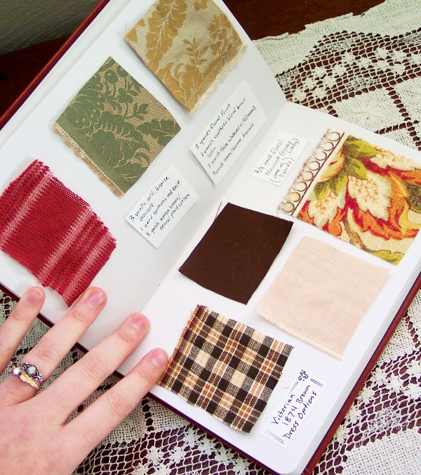 Book Cover Material Examples : Swatch book the pragmatic costumer