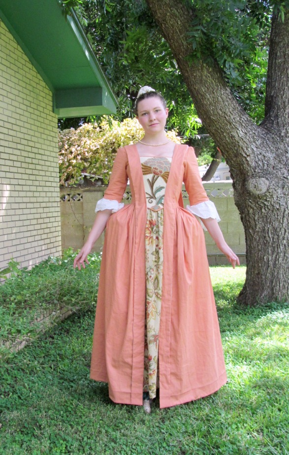 how to make a corset into a dress