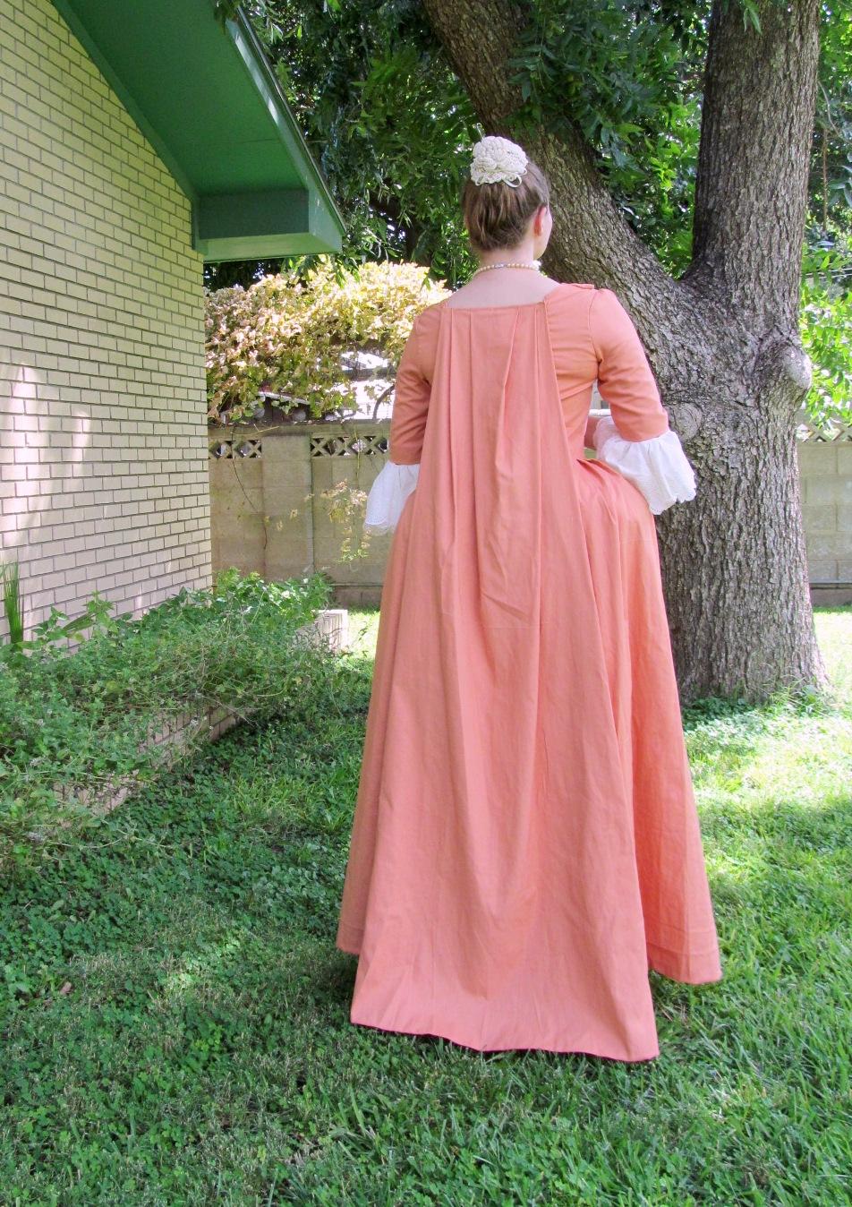 watteau pleats – The Pragmatic Costumer