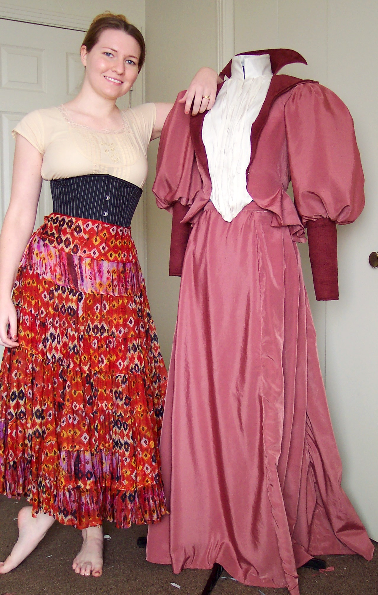 In The World Smallest Waist Without Corset for Pinterest