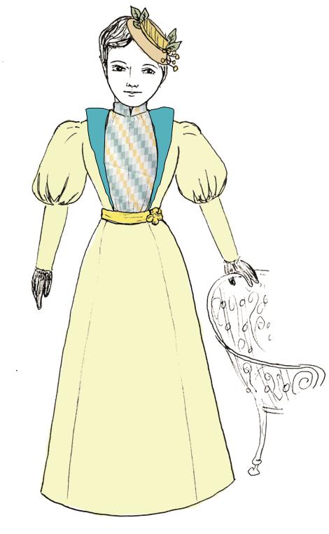 dressdesign_CreamandTeal