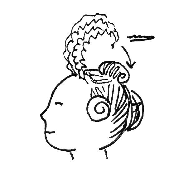 17th century the pragmatic costumer Hairstyles for Girls 101 8165