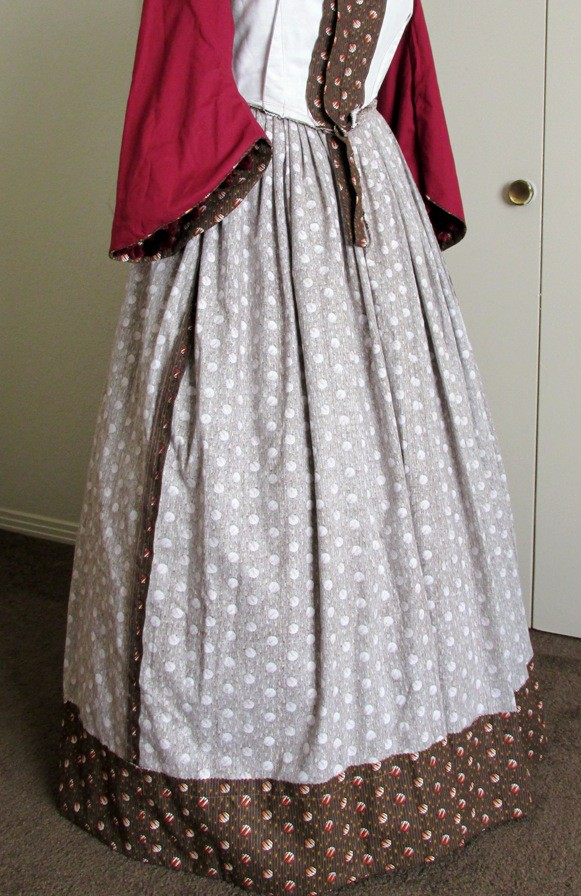One Pattern to Rule Them All: A Civil War Era Dress Made