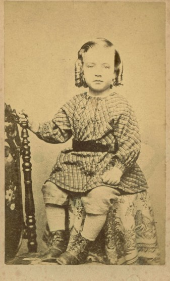 Young boy 1860s