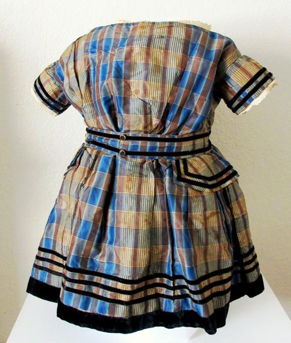 1860s Child's Dress