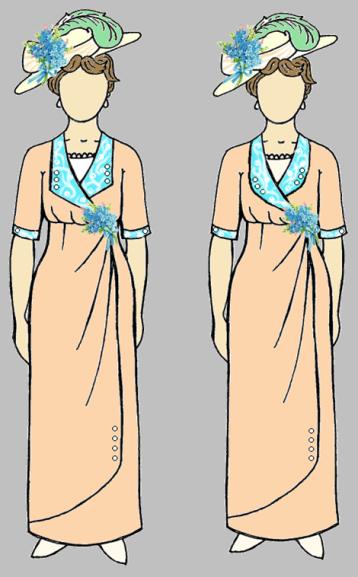Amelia Pink Dress Design