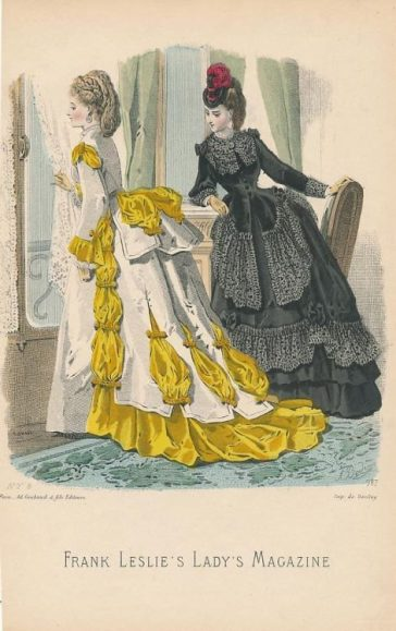 1870s breakfast dresses