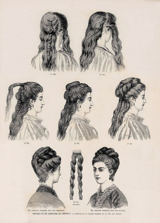 diy hair styles diy the pragmatic costumer 1866