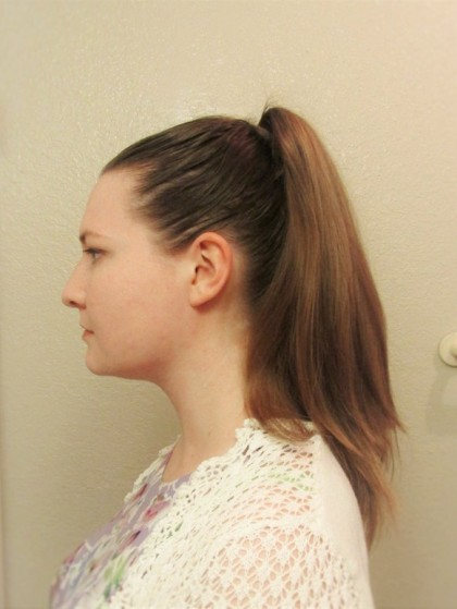 medium lenght haircuts a simple 1870s hairstyle tutorial and a review of mona 1880 | img 0800a1