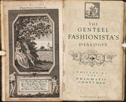 The Genteel Fashionista Dialog